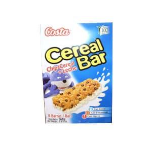 Deliregalos.com - Cereal Bar Costa Chips Cereal+Leche x 168grs **Kellogs** - Codigo:ABF05 - Detalles: 8 barras de chip cereal+leche  - - Para mayores informes llamenos al Telf: 225-5120 o 476-0753.