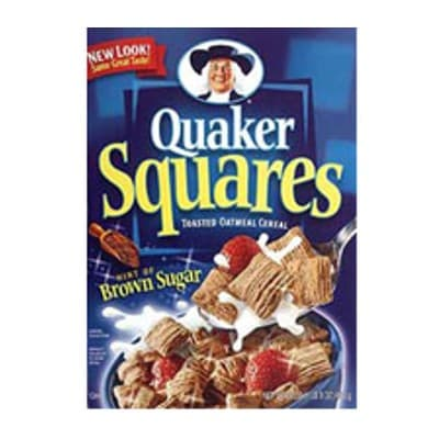Deliregalos.com - Quaker Squares x 453grs **Quaker** - Codigo:ABF35 - Detalles: Cereal crujiente de avena con azucar mascabado.  - - Para mayores informes llamenos al Telf: 225-5120 o 476-0753.