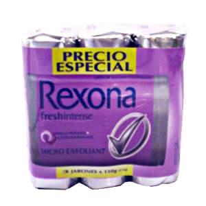 I-quiero.com - Jab�n Rexona fresh intense x 3 unid. - Codigo:ABJ16 - Detalles: Jab�n Rexona fresh intense x 3 unid.  - - Para mayores informes llamenos al Telf: 225-5120 o 476-0753.