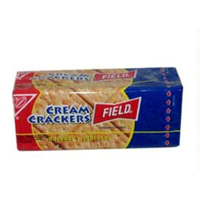 Deliregalos.com - Galletas Cream Crackers Field 316 grs. - Codigo:ABM29 - Detalles: Galletas Cream Crackers Field 316 grs.