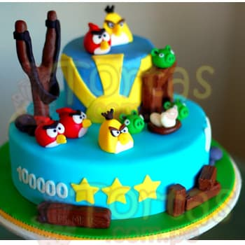 Torta Angry Birds 03