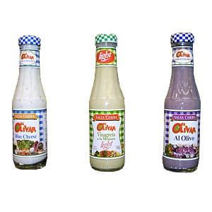 I-quiero.com - El Olivar salsas caseras x200gr - Codigo:ACE30 - Detalles: SALSAS CASERAS -LIGHT:Ideales para aderezar ensaladas, o usarlas como dip. **El Olivar**  - - Para mayores informes llamenos al Telf: 225-5120 o 476-0753.