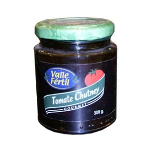 Deliregalos.com - Tomate Chutney x300gr - Codigo:ACE33 - Detalles: Tomate Chutney x300gr**Valle Fertil**   - - Para mayores informes llamenos al Telf: 225-5120 o 476-0753.