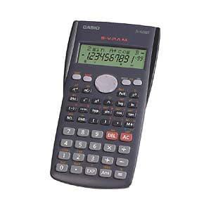 Deliregalos.com - Calculadora Cient�fica FX-82MS CASIO - Codigo:ACM07 - Detalles: C�lculos estad�sticos y fraccionarios incorporados 9 memorias. Teclado pl�stico a pilas.  - - Para mayores informes llamenos al Telf: 225-5120 o 476-0753.