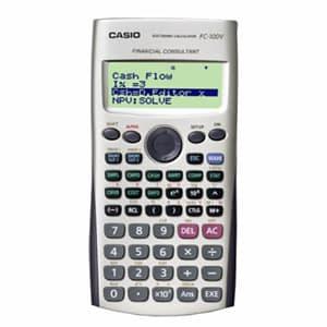 Deliregalos.com - CALCULADORA CASIO - FC-100V - Codigo:ACM09 - Detalles: CALCULADORA CASIO - FC-100V - PANTALLA DE 4 LINEAS X 10 DIGITOS . - CALCULO DE INTERES SIMPLE Y COMPUESTO - EVALUACION DE INVERS.(FLUJO DE EFECT.) - AMORTIZACION, CALCULO DE DIAS, - COSTO, VENTA, MARGEN DE GANANCIA * GARANTIA: 06 MESES  - - Para mayores informes llamenos al Telf: 225-5120 o 476-0753.