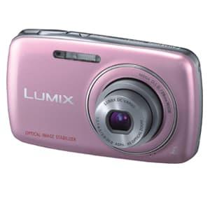 I-quiero.com - C�mara Digital Panasonic -DMCSD-S1PA - Codigo:ACN04 - Detalles: DMCSD-S1PA-Resolucion 12 megapixeles-Zoom optico 4X-Reconocimiento automatico de escenas-Estabilizador optico-Gran angular de 28mm-Video en HD para PC-Funcion de ayuda panoramica-Color rosado-Bateria YN101H-Garantia:12 meses  - - Para mayores informes llamenos al Telf: 225-5120 o 476-0753.