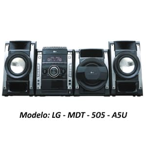 Deliregalos.com - MINICOMPONENTE LG - MDT-505-A5U - Codigo:ACU14 - Detalles: MINICOMPONENTE LG - MDT-505-A5U - POTENCIA 500W. RMS - BANDEJA P/ 3 DISCOS - REPRODUCE CD, MP3, DVD, DIVX - INGRESO P/MICRO FUNCION KARAOKE - USB (FOTO, MUSICA, VIDEO) - SIATEMA 2.1 - RADIO FM,AM - ECUALIZACIONES MANUALES Y PREFIJADOS - GARANTIA 12 MESES  - - Para mayores informes llamenos al Telf: 225-5120 o 476-0753.