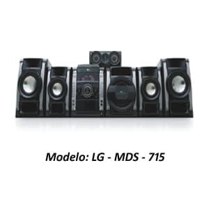 Deliregalos.com - MINICOMPONENTE LG - MDS-715 - Codigo:ACU15 - Detalles: MINICOMPONENTE LG - MDS-715 - POTENCIA 710W. RMS - BENDEJA P/ 3 DISCOS - REPRODUCE CD,MP3,VDC.DVD.DIVX - INGRESO P/ MICRO FUNCION KARAOKE - SISTEMA 5.1 CANALES - USB (FOTO,MUSICA,VIDEO) - GRABA DE TODA FUENTE A USB - RADIO FM, AM - GARANTIA 12 MESES  - - Para mayores informes llamenos al Telf: 225-5120 o 476-0753.