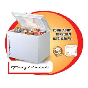I-quiero.com - CONGELADORA FRIGIDAIRE - GLFC-1326FW - Codigo:ADF09 - Detalles: CONGELADORA FRIGIDAIRE - GLFC-1326FW - HORIZONTAL - CAPACIDAD 364LTS (13p3) - DESCONGELAMIENTO MANUAL - CON LLAVE Y TERMOSTATO - DRENAJE PARA DESCONGELAMIENTO - INCLUYE 2 CANASTILLAS - 119 CM ANCHO 91cm ALTO FONDO 76CM *GARANTIA: 12 MESES  - - Para mayores informes llamenos al Telf: 225-5120 o 476-0753.