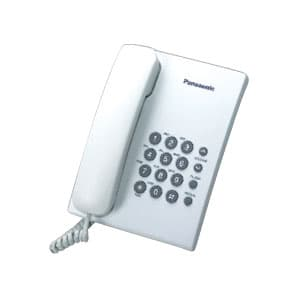 Deliregalos.com - Tel�fono al�mbrico Panasonic KX-TS500 - Codigo:ADI01 - Detalles: Rediscado. Sistema tono y pulso. Selector de timbre  - - Para mayores informes llamenos al Telf: 225-5120 o 476-0753.