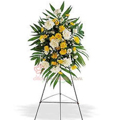 Tortas.com.pe - Arreglo Corporativo 07 - Codigo:AGP07 - Detalles: Imponente arreglo compuesto por flores y follaje de estaci�n. Mide 1.7m de alto y debe ordenarse con 24 horas de anticipaci�n. - - Para mayores informes llamenos al Telf: 225-5120 o 476-0753.