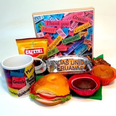 Desayuno de Agradecimiento | Desayunos Peru - Cod:AMB13