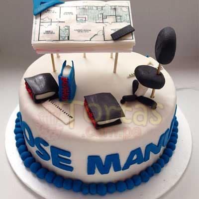 Especial 14 - Codigo:ARQ14 - Detalles: Deliciosa torta de keke ingles bañada con manjar y forrada con masa elastica de Medida 25 cm diametro,plano según imagen fotoimpresión comestible , y demas accesorios de azucar,base forrado en papel de aluminio.  - - Para mayores informes llamenos al Telf: 225-5120 o 4760-753.