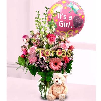Arreglo Floral Baby 01