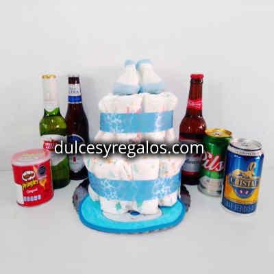 Torta de Pañales | Regalos para Bebes - Cod:BBS34