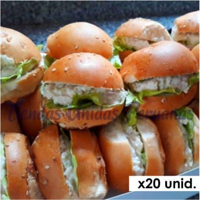 Sandwichs Delivery | Sandwich pollo x 20 - Cod:BIP04