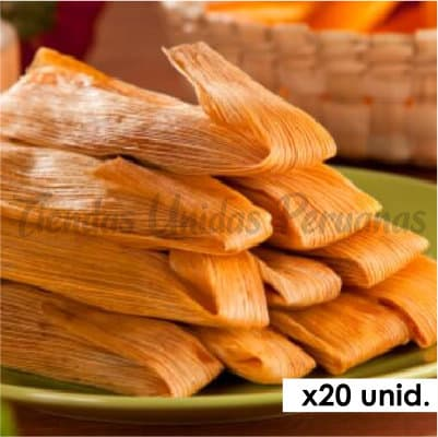 Tamales Delivery | Tamales x 20 - Cod:BIP11
