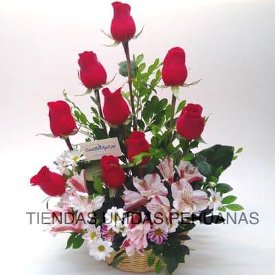 Arreglo con Rosas Delivery   Arreglo de Rosas Limaº - Cod:CCZ15