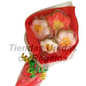 Deliregalos.com - Flores de chocolates 14 - Codigo:CHF14 - Detalles: Lindo ramo de 4 flores, envueltos con papel seda, incluye tarjeta de dedicatoria. Este producto se realiza con 48 horas de anticipaci�n.  - - Para mayores informes llamenos al Telf: 225-5120 o 476-0753.