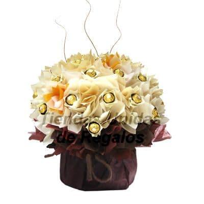 Flores de Chocolate 16