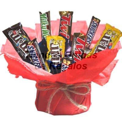 Tortas.com.pe - Flores de Chocolate 18 - Codigo:CHF18 - Detalles: Lindo arreglo compuesto por 9 chocolate sellados, con hermosa decoracion en base de ceramica, incluye tarjeta de dedicatoria. Este producto se realiza con 48 horas de anticipaci�n.  - - Para mayores informes llamenos al Telf: 225-5120 o 476-0753.