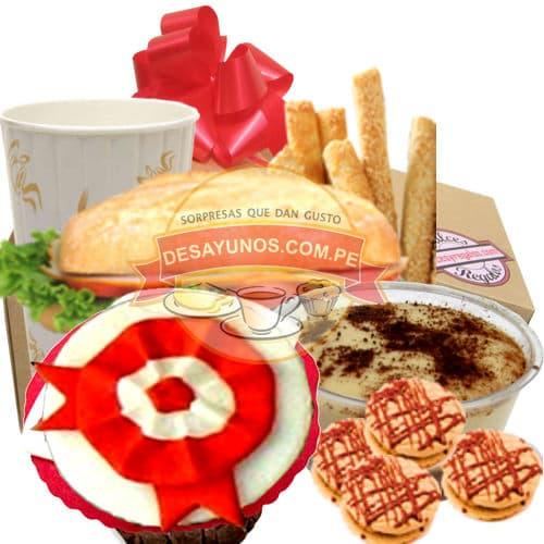 Especial Peru 06 - Codigo:CJP06 - Detalles: Delicioso pack que contiene: Jugo de Frutas, s�ndwich de lomito ahumado, delicioso postre de tres leches, pack de galletas de chispas de chocolate, 4 palitos de queso especial. Delicioso muffin de vainilla con decorado especial en masa el�stica con la escarapela peruana, servilleta y tarjeta de dedicatoria.  - - Para mayores informes llamenos al Telf: 225-5120 o 4760-753.