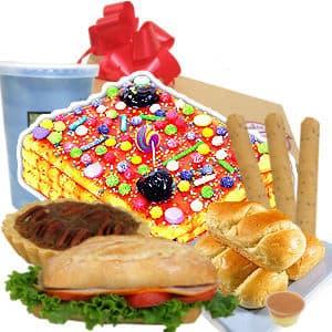 Turron x250g y Gourmet - Codigo:CJP20 - Detalles: Caja de regalo sorpresa conteniendo delicioso y grande turr�n de do�a pepa de 250gr. Incluye Jugo de frutas, sandwich mixto en pan bimbo especial con ajonjoli, palitos de queso, pack de galletas de chispa de chocolate. Incluye tarjeta de dedicatoria de cortesia.  - - Para mayores informes llamenos al Telf: 225-5120 o 4760-753.