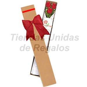 Deliregalos.com - Caja de Rosas 03 - Codigo:CJS03 - Detalles: Caja ecol�gica con 3 lindas rosas importadas, lazo rustico, incluye tarjeta de dedicatoria. - - Para mayores informes llamenos al Telf: 225-5120 o 476-0753.