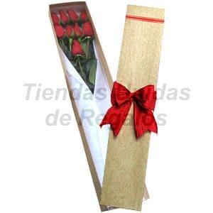 Deliregalos.com - Caja de Rosas 09 - Codigo:CJS09 - Detalles: Caja ecol�gica con 9 rosas importadas, lindo lazo rustico, incluye tarjeta de dedicatoria. - - Para mayores informes llamenos al Telf: 225-5120 o 476-0753.
