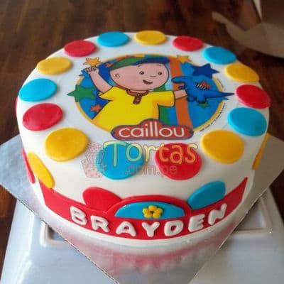 Grameco.com - Regalos a PeruTorta Caillou 07