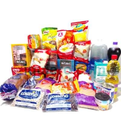 Caja de Viveres   Delivery de Viveres   Regalos Peru   Regalos a domicilio Lima Peru - Cod:CNT07