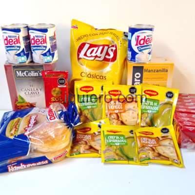 Regalos Delivery Peru   Canasta para Lonches - Cod:CNT11