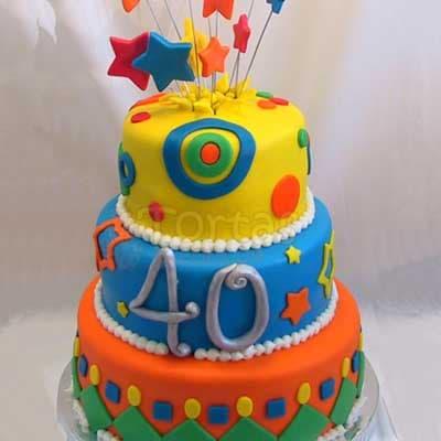 CUMPLEAÑOS 01 - Codigo:CUM01 - Detalles: Deliciosa torta de keke ingles bañada con manjar y forrada con masa elastica de Medidas :Primer piso 25 cm diametro, segundo piso 20 cm diametro, tercer piso 15 cm diametro,modelo según imagen, base forrado en papel de aluminio. - - Para mayores informes llamenos al Telf: 225-5120 o 4760-753.