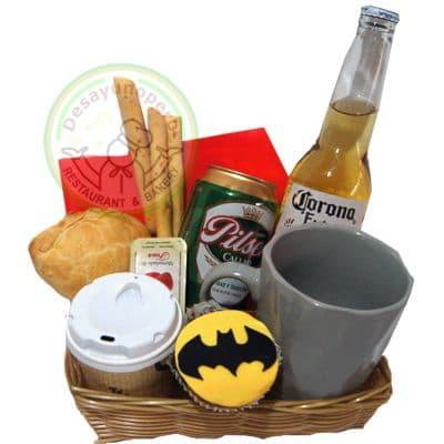 Desayuno Sorpresa Batman | Desayunos para regalar | Desayuno Batman  - Cod:DGA08