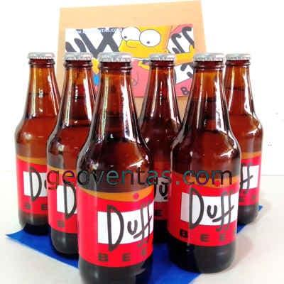 Lafrutita.com - Pack  5 Duff - Codigo:DBA11 - Detalles: Cervezas Artesanales lager, claras y brillantes, tipo Pilsener. Tiene un contenido alcoh�lico de 5% y un contenido menor al 3.5% de carbohidratos. Botellas Personales de 330ml. Dise�o especial Duff, segun imagen. Las cervezas vienen frias para su transporte. El presente incluye una caja de regalo sellada y tarjeta de dedicatoria. - - Para mayores informes llamenos al Telf: 225-5120 o 476-0753.