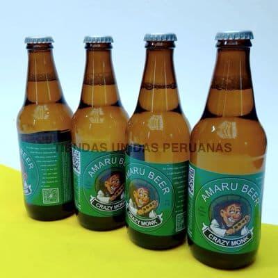 Lafrutita.com - Cerveza Crazy Monk de Cafe x 4 - Codigo:DBA06 - Detalles: Cerveza artesanal con caf� org�nico 100% peruano. Exquisito Sabor 5% de alcohol. Presentaci�n de 4 unidades. . El presente viene en una caja de regalo sellada e incluye tarjeta de dedicatoria. Contenido neto de cada botella 330ml de exquisita cerveza negra. - - Para mayores informes llamenos al Telf: 225-5120 o 476-0753.