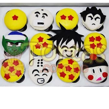 Grameco.com - Regalos a PeruMuffins Dragon Ball