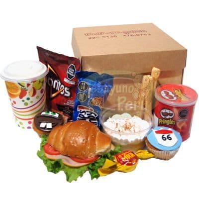 Desayuno de Cars | Desayuno sorpresa para niños | Desayuno Rayo Mcqueen con Cupcakes - Cod:DCA01