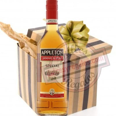 Deliregalos.com - Exclusivo Ron Appleton 1 Litro - Codigo:DDP43 - Detalles: Edici�n Special appleton jamaica rum. Presentaci�n de 1 litro. Incluye caja y tarjeta de dedicatoria.  - - Para mayores informes llamenos al Telf: 225-5120 o 476-0753.