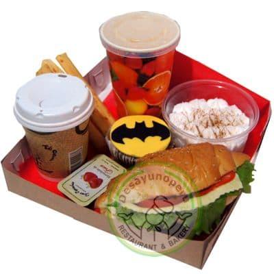 Enviar Desayuno a Domicilio | Desayuno Batman - Cod:DGA02