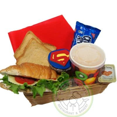 Desayuno Superman | Súper Desayuno Hombre Araña - Cod:DGA06