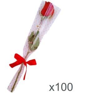 Regalisma: Regalos de empresa, artículos publicitarios   Ramo de Rosas x 100 unidades - Cod:DME02