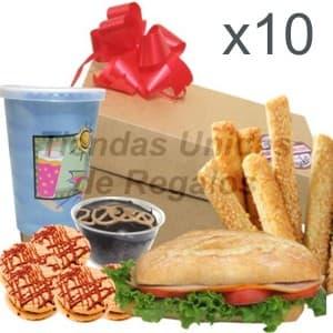 Regalos para Empresas   Desayunos para empresas 10 personas - Cod:DME03