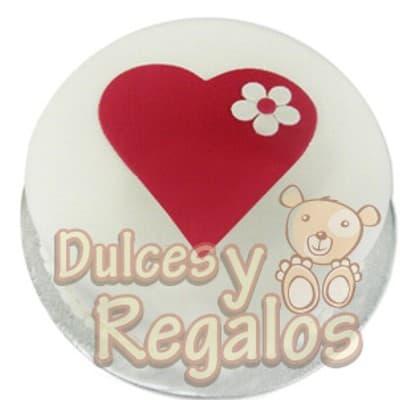 Torta Corazon | Regalos Dia De La Mujer - Cod:DMJ44