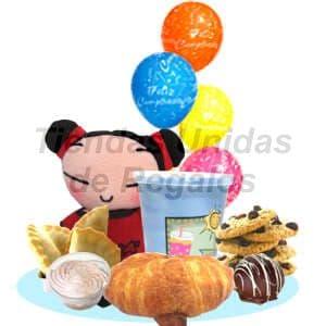 Desayunos infantiles para Regalar   Desayuno y Peluche - Cod:DNN04