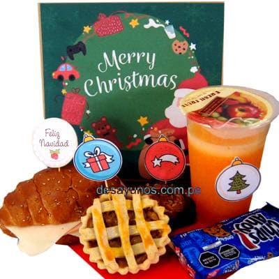 Desayunos Navideños a Domicilio | Desayuno Navidad - Cod:DNV09