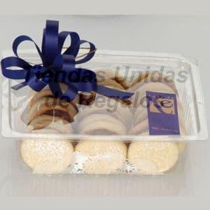 Pack Gourmet 2 - Codigo:DPC02 - Detalles: Docena a de alfajores en cajita de regalo, finamente adornados con papel de regalo y cinta de agua. - - Para mayores informes llamenos al Telf: 225-5120 o 4760-753.