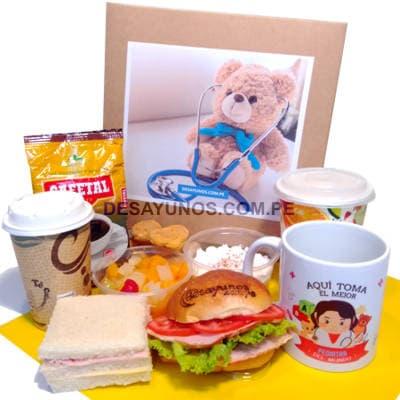 Regalos Para Los Pediatras   Dia del Pediatra Desayunos - Cod:DSP13
