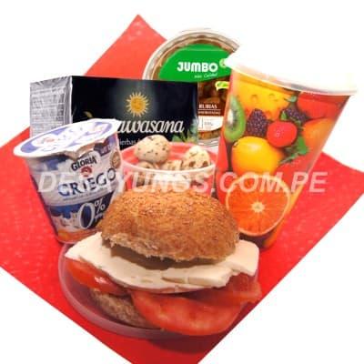 Lafrutita.com - Especial Vegano 10 - Codigo:DVV10 - Detalles: Yogurt Griego, Sandwich de queso con tomate en pan de semillas, 100g de pasas blancas, porcion de huevos de codorniz, infusion especial  natural a escojer de Achote,Valeriana, Sabila,  Asmachilca, Diente de Leon, Boldo, Borraja, Hierba Luisa,  Hercampuri, Hierba Santa,  Llanten,  Matico de la Selva,  Manzanilla, Menta, Mu�a, Manayupa, Moringa, Noni, Paico, Palosanto, Romero, Ruda, Retama, Tomillo Toronji o U�a de gato, Todo en una elegante caja de regalo - - Para mayores informes llamenos al Telf: 225-5120 o 476-0753.