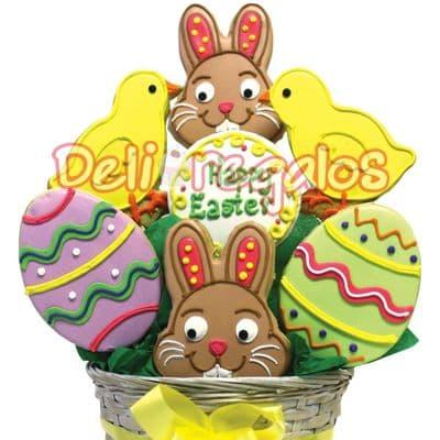 Arreglo de Galletas de Pascua